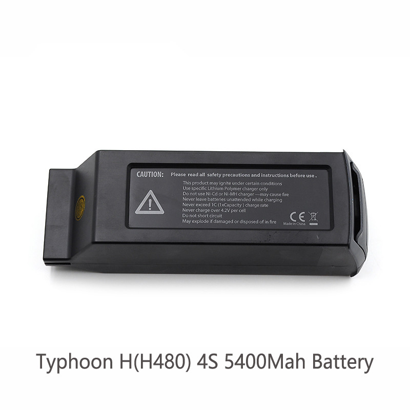 Free Shipping In Stock Typhoon H H480 4S 5400Mah Battery RTF RC Drone spare parts Battery for Typhoon H yuneec typhoon h rtf black grey гексакоптер