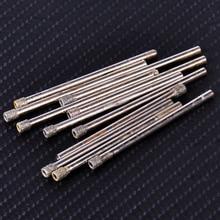 LETAOSK Новые 10 шт. 3 мм Алмазное покрытие сверло отверстие пилы сверла для стекла гранита мраморной плитки