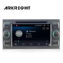 """7 """"2 din 2 gb di Ram Auto Radio Audio Stereo HD di Navigazione GPS unità di Testa Per Ford Focus Fusion multimedia Player Supporto DAB OBD DVR"""