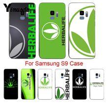 Yinuoda Black Herbalife Unique Design High Quality phone case For samsung galaxy s9 plus s7 edge s6 edge plus s5 s8 plus case
