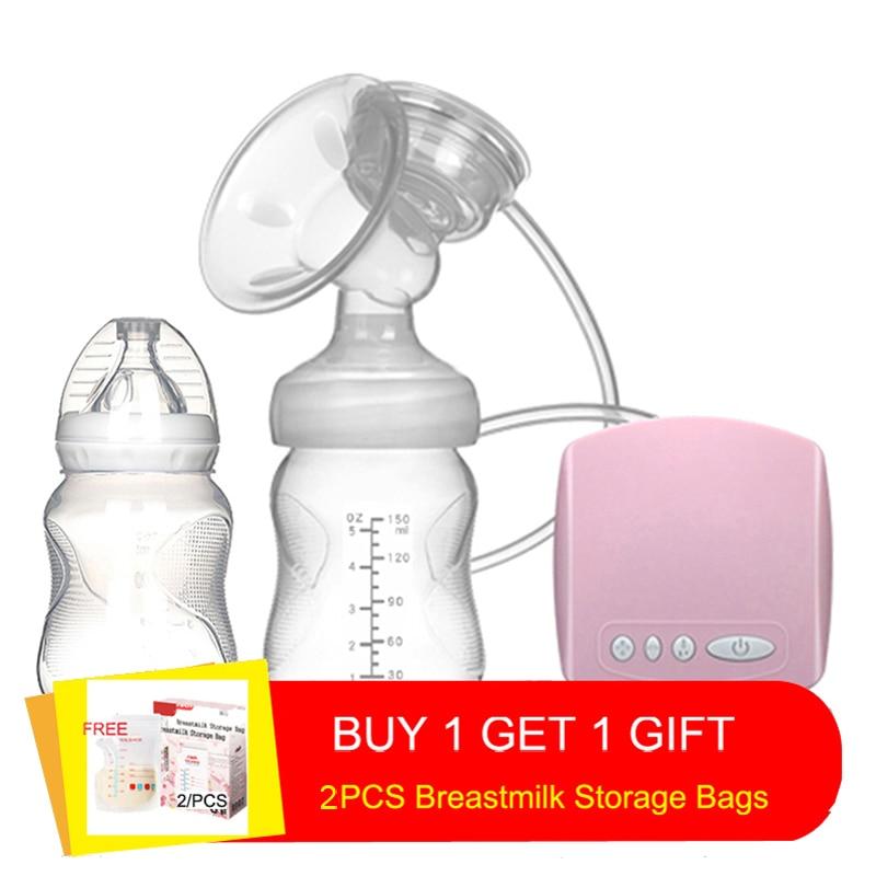 New 2020 Intelligent automatic electric breast pumps Nipple Suction milk pump breast feeding Single USB Electric Breast Pump 510