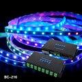 16 каналов Artnet для SPI/DMX WS2811 WS2812B SK6812 2801 8806 светодиодный контроллер пикселей 340 пикселей * 16CH DC5V-24V BC-216 управления