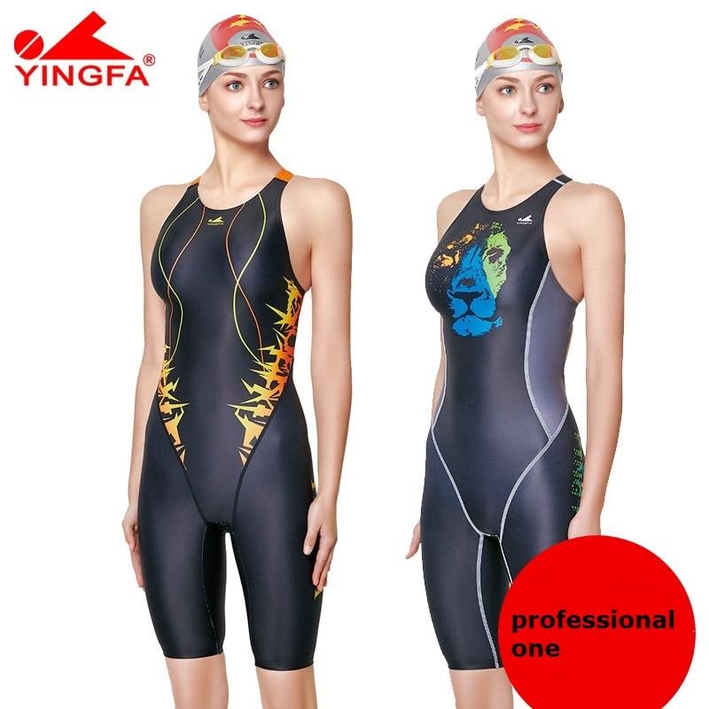 8b55c0ff072 Yingfa 2018 new Hot Professional Sport Swimwear Women Bathing Suit One  Piece Swimsuit For Girls Women s Swimsuits Swimming Suit