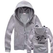 2016 Winter Men Fishing Clothes | Fishing Sweatshirt | Zipper Sweatershirt Jacket Outdoor Sports Fishing Clothing Male FS001