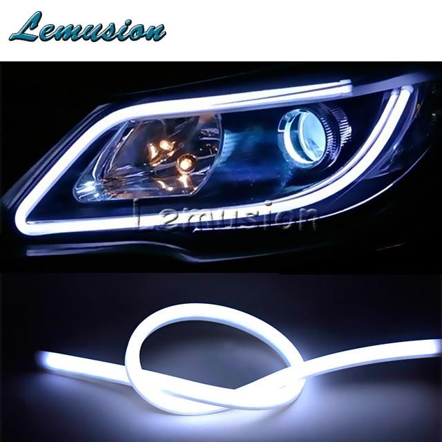 Superb Car Styling Flexible 60cm Car LED DRL Lamp Daytime Running Light For Volkswagen  VW Polo Ideas