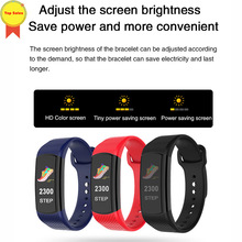 Smart Band Blood Pressure Heart Rate Monitor Sport Fitness Tracker Bracelet Waterproof 0.96'' color screen Women Men Smart Watch