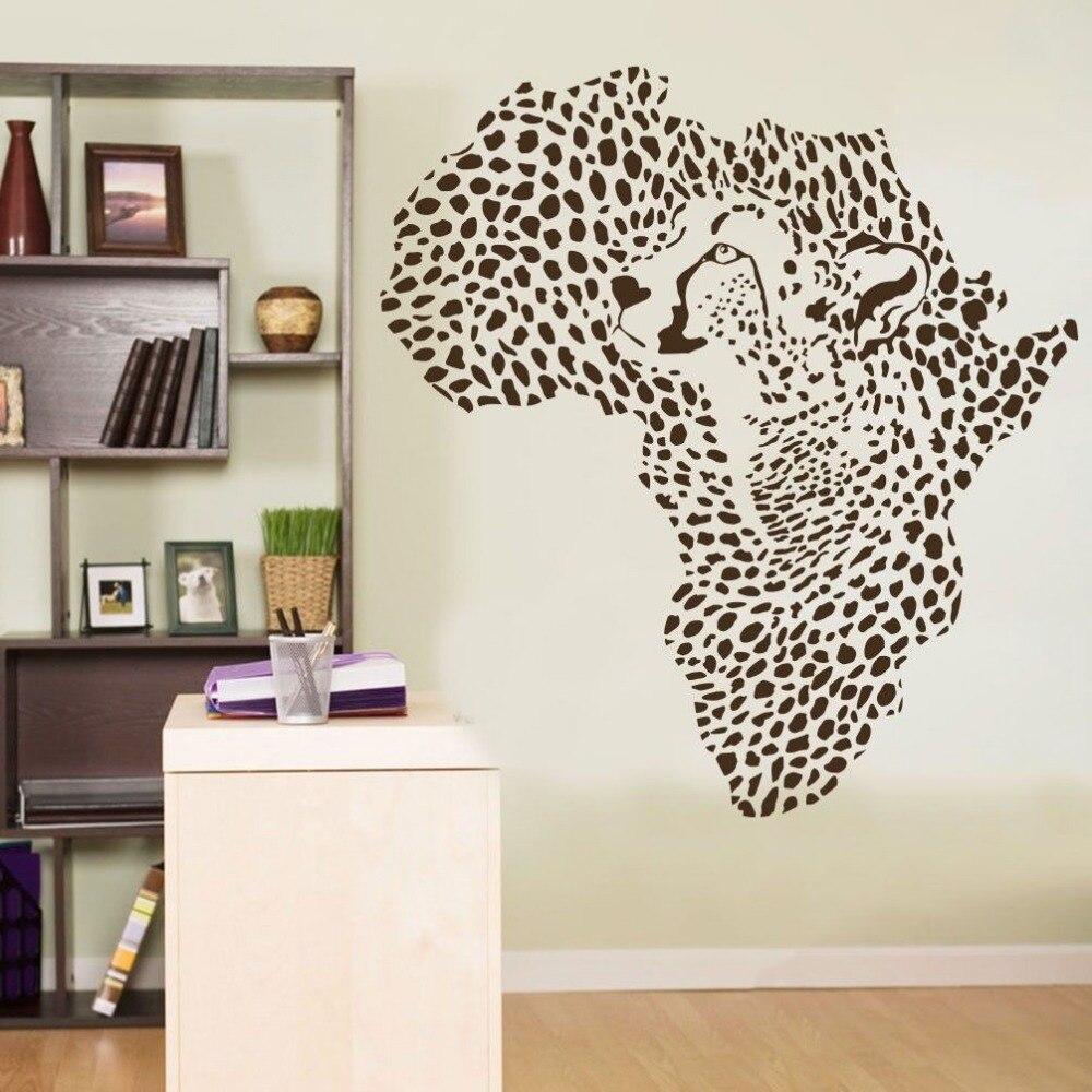 Animal Leopard Cheetah Wall Decal Vinyl