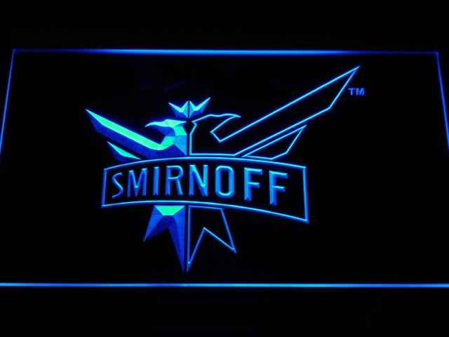 a195 Smirnoff Vodka Wine Beer Bar LED Neon Sign with On/Off Switch 20+ Colors 5 Sizes to choose