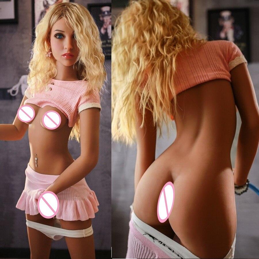 Ailijia 157 cm silicone poupées de sexe réel petite poitrine poupée de sexe masculin masturbateur cul poupée sexy adulte de sexe jouets mini