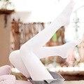 Novo Estilo Japonês Mulheres Collants Meias de Seda Primavera E No Outono De Veludo Branco Dança Ballet Moda Lotação Meia-calça Feminina