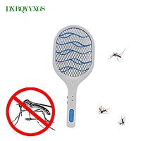 DXBQYYXGS 3 Layers Net Dry Cell Hand Racket Electric Swatter Bat Wasp Zapper Fly Mosquito Killer