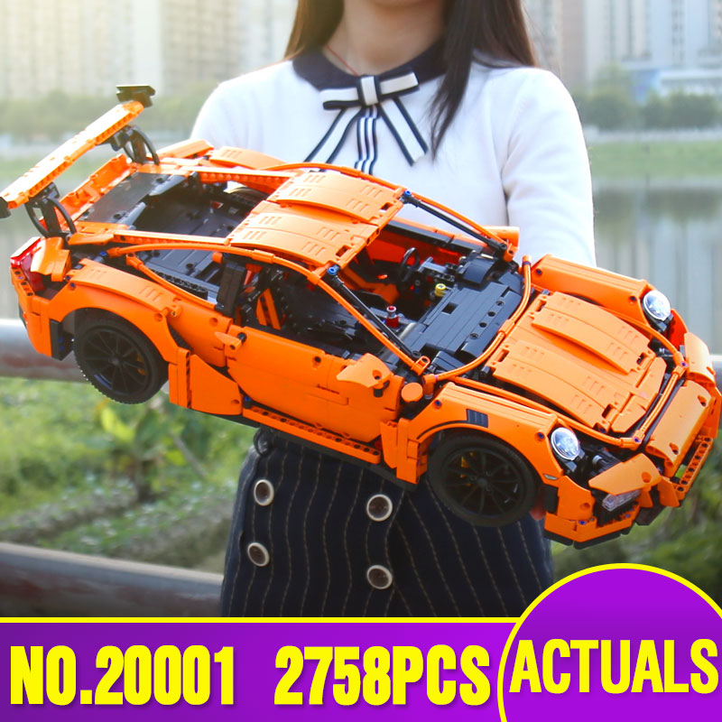 Lepin 20001 20086 23002 23006 technic series Legoinglys 3368 race car bricks 42056 font b model