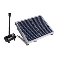 10W 17V Solar Panel Powered Fountain Garden Pond Pool Water Pump Submersible Watering Pump Kit