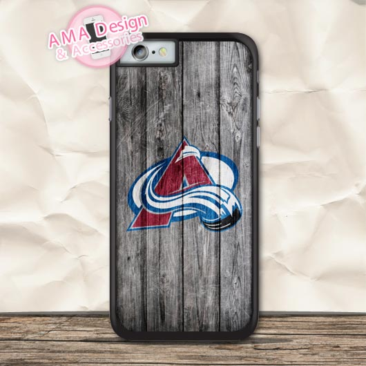Colorado Avalanche Ice Hockey Case For iPhone X 8 7 6 6s Plus 5 5s SE 5c 4 4s For iPod Touch