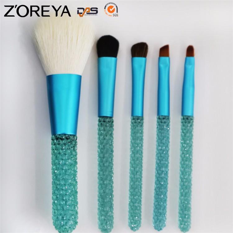 ZS58 custom logo makeup brushes (4)