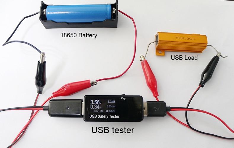 Aukštos kokybės CAR USB testerio įtampos srovės galios tikrinimo - Matavimo prietaisai - Nuotrauka 4