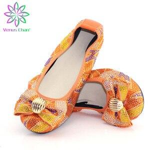 Zapatos señoras planos de estilo italiano, zapatos planos africanos cómodos para mujeres, suelas blandas naranjas, zapatos de señora para conducir, zapatos cómodos