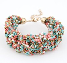 Promotion (mix order)SPX3143 Multicolor New Arrival Hot Sale Fashion Manual Vintage Bead Discount Bracelet Jewelry