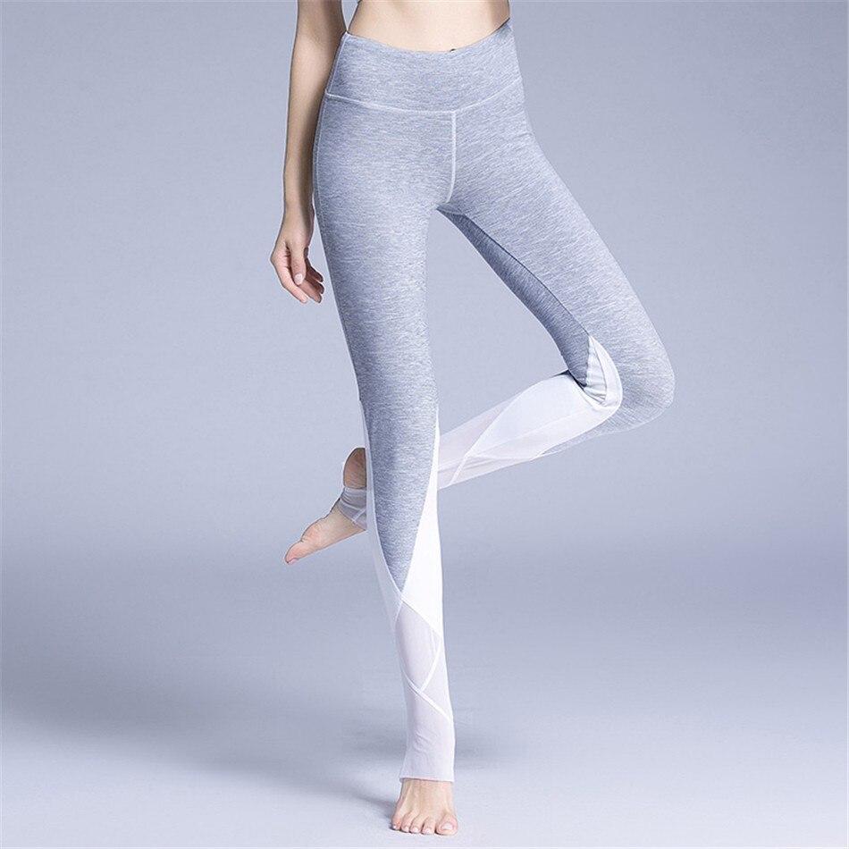 Vintage Bloom Printed High Waist Mesh Ballet Pants Grey Skinny Stirrup Active Gymming Fitness Leggings Workout Outfit Leggings