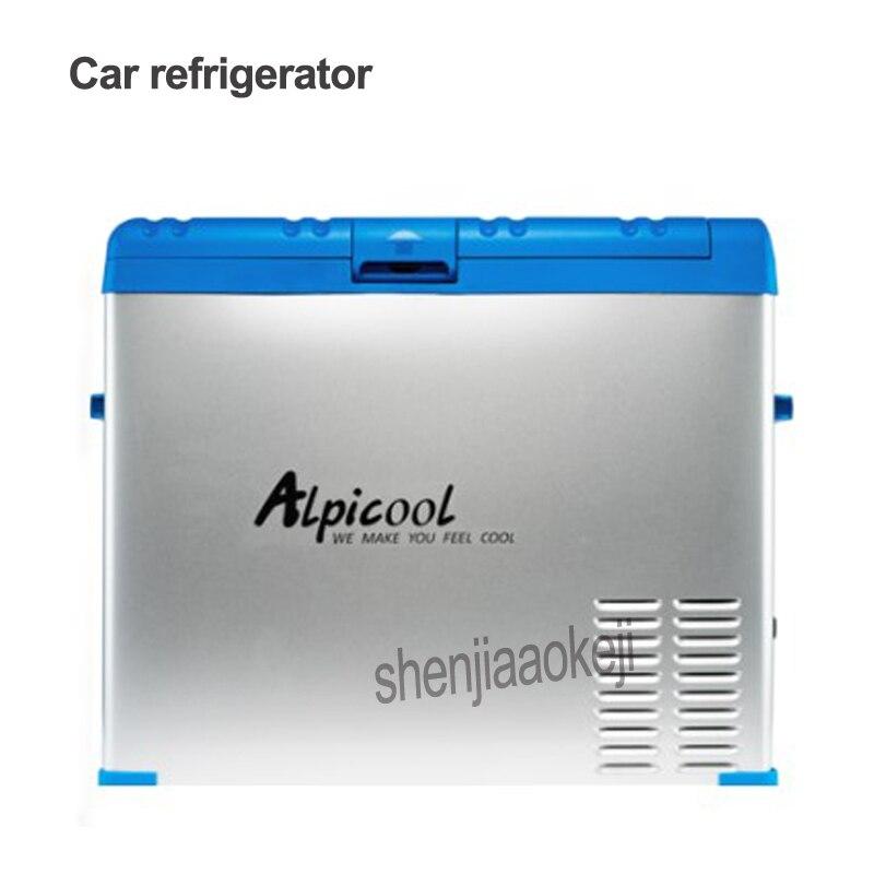 Portable 50L Car/Household Refrigerator Freezer Mini Fridge Compressor Cooler Box Insulin Ice Chamber Depth Refrigeration 45w