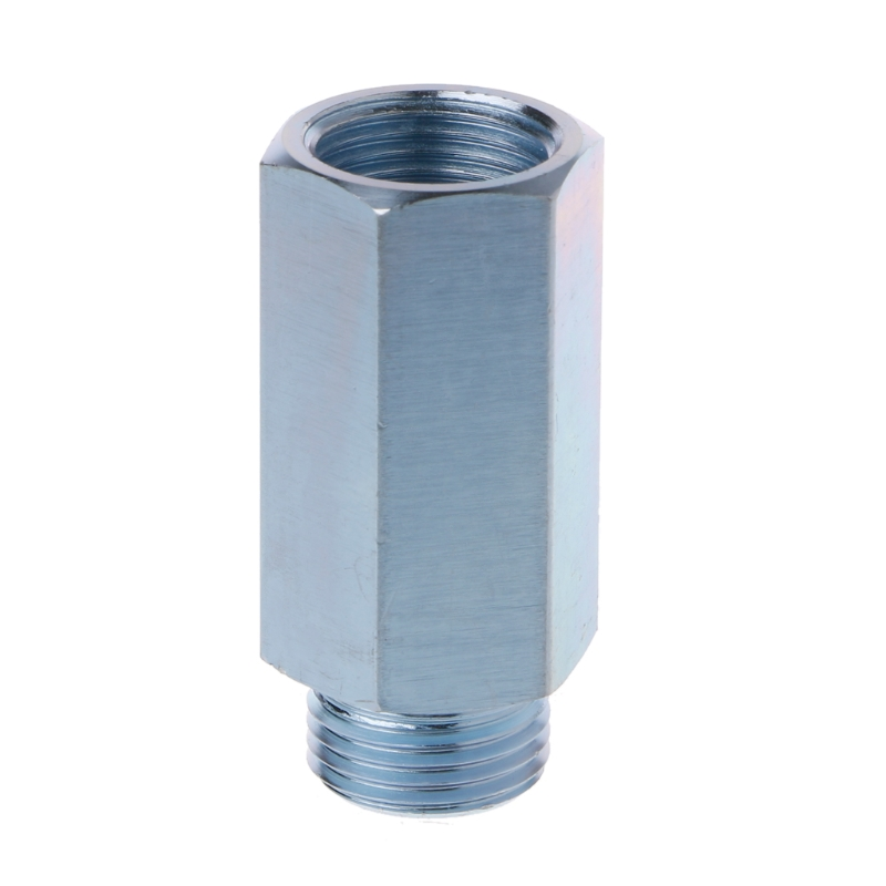 OOTDTY M18x1.5 Lambda Oxygen Sensor Bung Adapter Extender Spacer Joints Converter Dropshipping