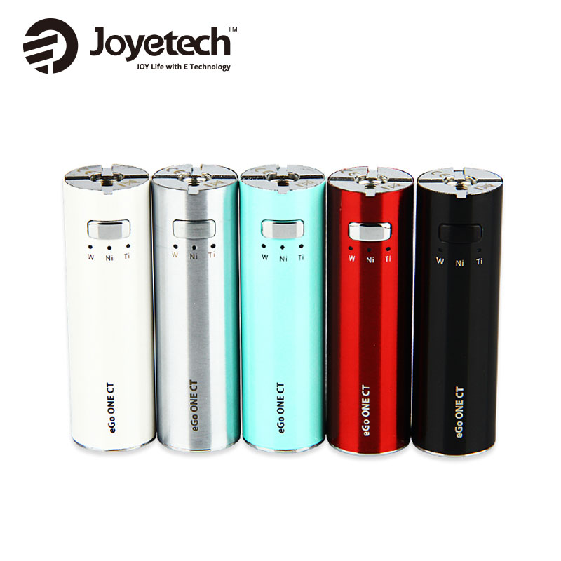 Premium Joyetech eGo One CT Battery 1100mAh 2200mAh Joyetech Constant Temp Battery Vape Mod Electronic Cigarette