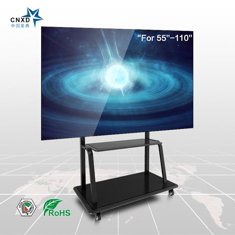 CNXD Plasma Flat Panel TV Bodenständer mit Universal TV Montieren Geeignet Für 55 ''-95'' TV Schränke TV möbel
