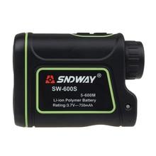 Big sale SNDWAY SW-600S 600M Distance Laser Finder Outdoor Golf Rangefinder M/Y Meter Speed Measurer Monocular Telescope