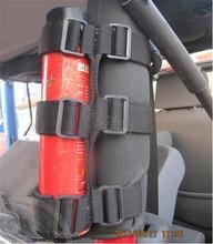 Grande Espuma De Extintor de Incêndio Tieback Buckle Fastener para Jeep Wrangler Chama Lutador Titular Pilar C Bandagem 2 pcs Frete Grátis