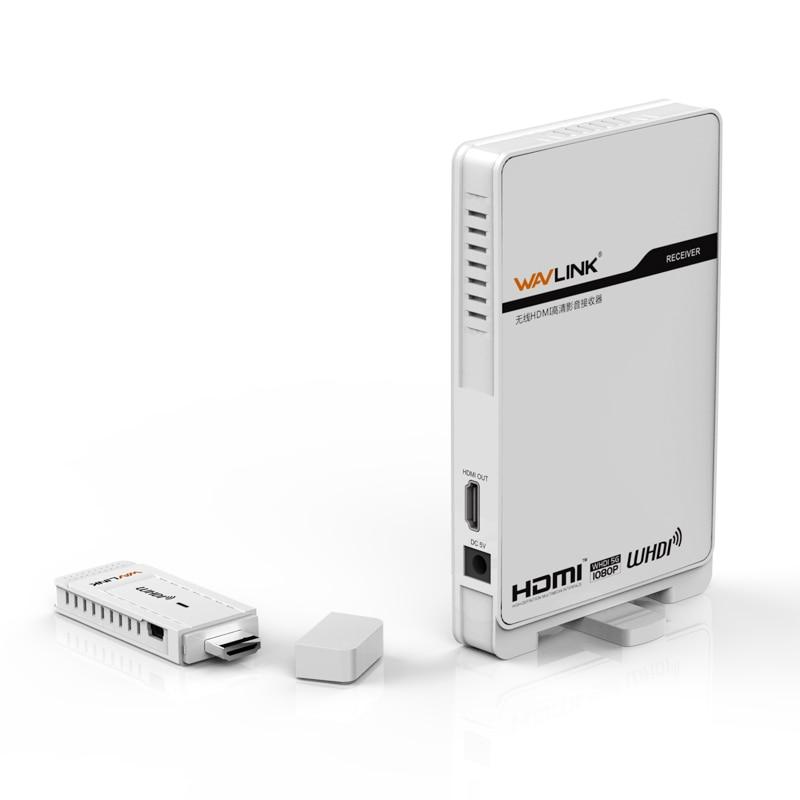 Wavlink WL AV510W2 WHDI 5GHz HD Wireless HDMI Transmitter & Receiver Kits 3D Video System