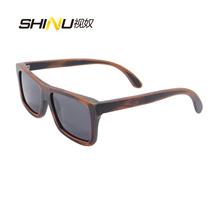 Hot Sale Wood Bamboo Sunglasses Vinatage Men Polarized Wooden Glasses Fashion Brand Designer Sun Glasses Oculos De Sol Feminino