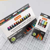 Metallic Pen 15 Permanent Acrylic Paint Markers, For Doodling, Borders, Patterns and Craft Projects/Based Waterproof Markers
