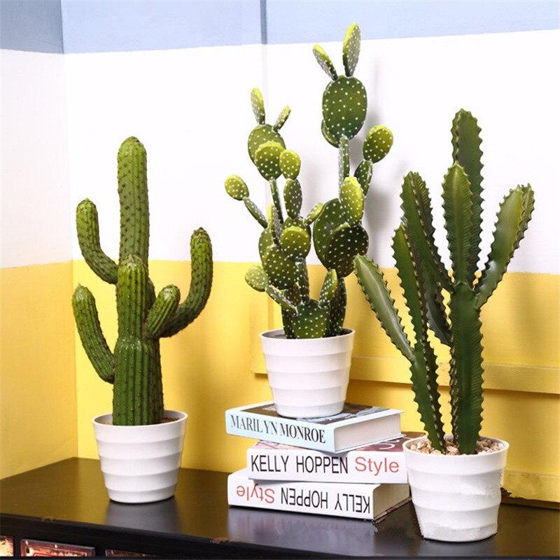 Simulation Cactus plante succulente Cactus artificiel décoration de la maison plante du désert paysage Tropical décoration
