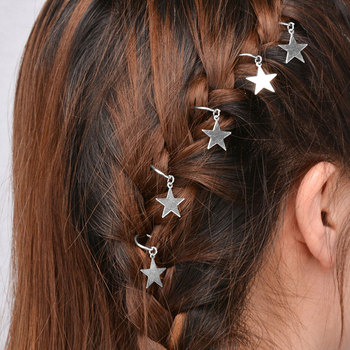 Trench Hairstyle Geometry Hairpin Dirty Braid Hair Ornaments Girl Charm Hair Tools Makeup & Beauty Wedding Hip-Hop Accessories