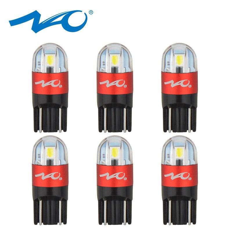 NAO Car Bulbs Trunk-Lamp Auto-Clearance-Lights W5W 3030 Smd Turn-Signal T10 Led White