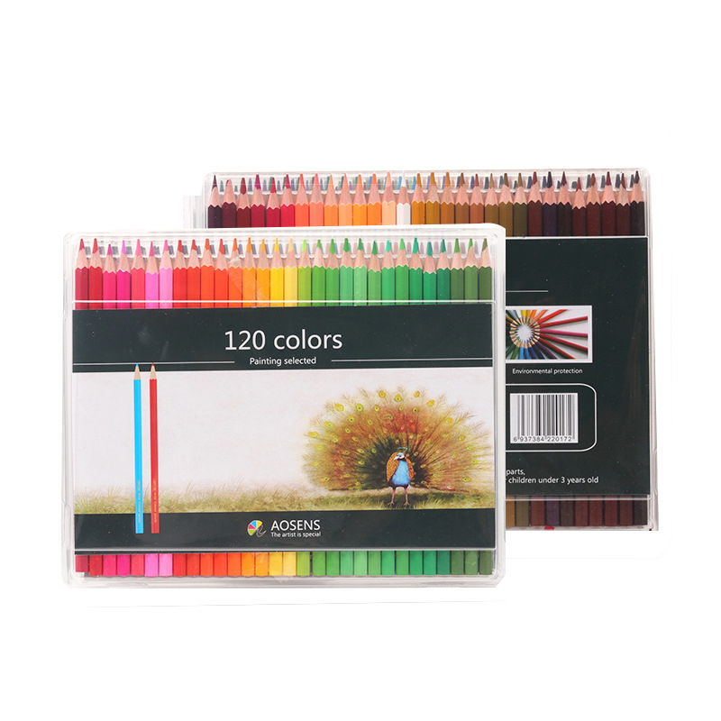 120 Colors Wood Colored Pencils for Artist Painting Oil Color Drawing Sketch Art Pencil Student School Stationery Supplies