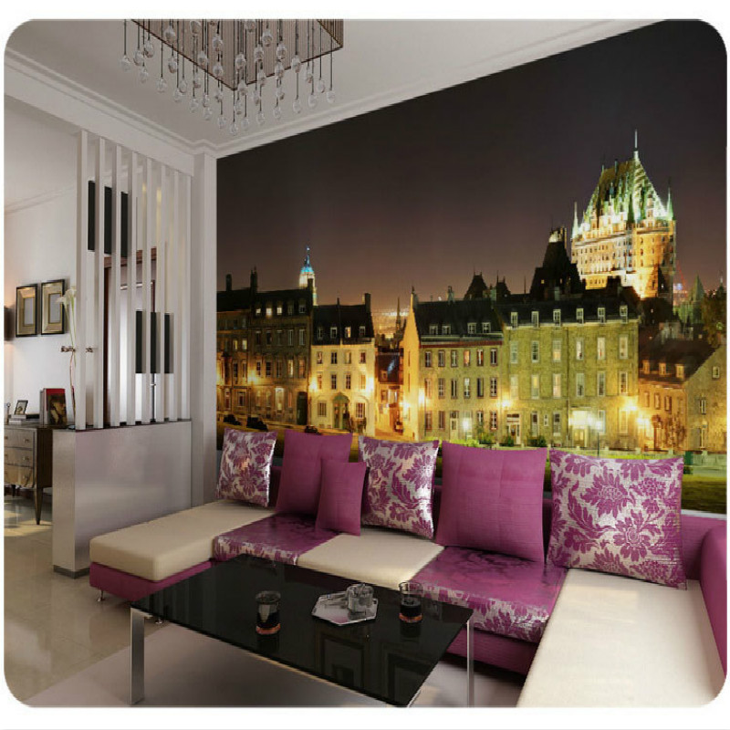 Mural City london night large murals modern bedroom living room TV background wallpaper 3D stereo personality wallpaper city edward lucie smith toulouse lautrec