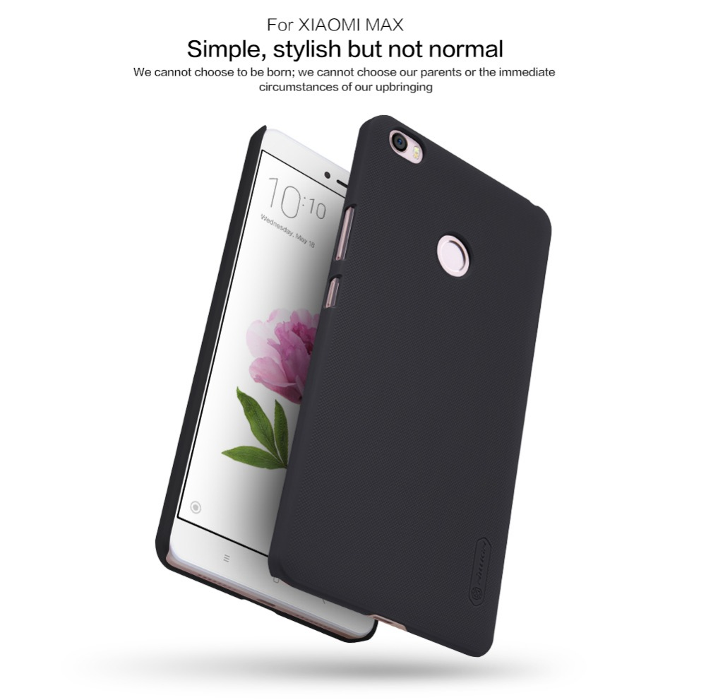 Matte Case For Xiaomi MAX case Nillkin Super Frosted Shield Case Back Cover For Mi Note 2 matte Plastic Hard Back Cover Case