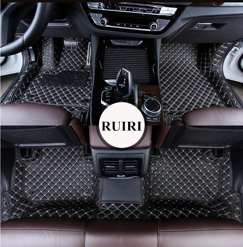 Car Floor Mats Front /& Rear Liner FLY5D Auto Waterproof Mat For BMW X3 2011-2016
