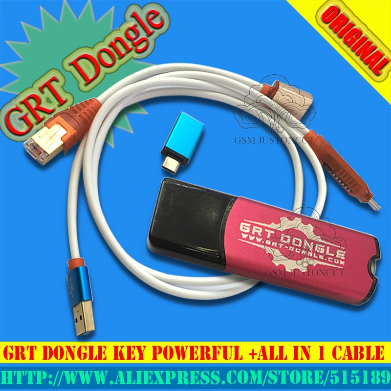 US $89 0 |GRT dongle KEY powerful +all in 1 cable for Qualcomm Tool IMEI  repair remove FRP for Samsung Huawei HTC NOKIA LG SONY oppo vivo-in Telecom