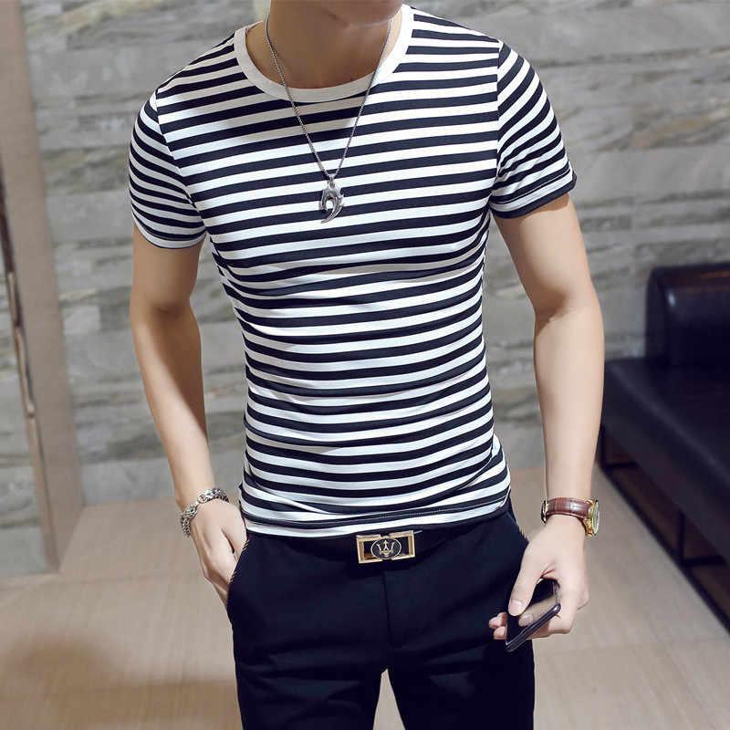 ผู้ขายร้อนฤดูร้อนเสื้อยืดผู้ชายแฟชั่น O - คอสั้นแขนเสื้อ T ชายเสื้อผ้าแนวโน้ม Casual Slim Fit Top tees