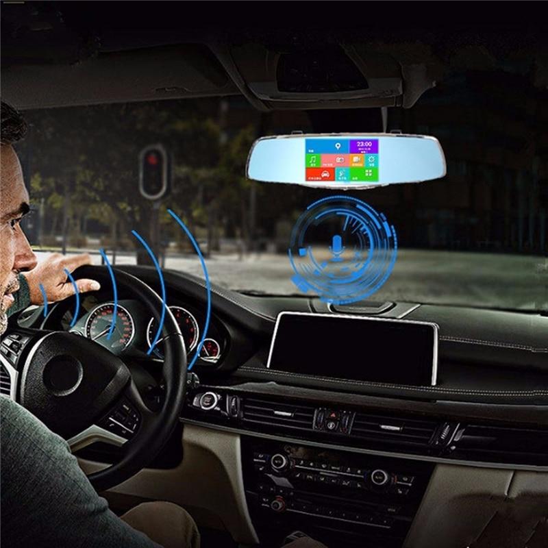 Rearview Mirror Dual Channel Recorder 5 Inch 1080P Dual Car Dash Camera Night Version 5-inch HD 1080P Car DVR 170 Degree