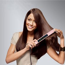 1Pc Dual-purpose Mini Ceramic Straight Perm Folder Fast Hair Straighten