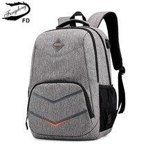 Fengdong Hoge Schooltassen Voor Tiener Jongens Rugzak Jongen Laptoptas 15.6 Kids Schooltas Jongen Schooltas Rugzak Usb lading