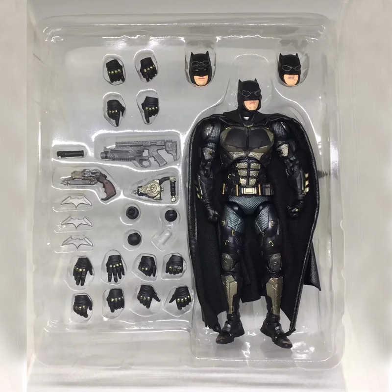 """6 """"Лига Справедливости DC Hero Бэтмен Тактический Костюм Ver. MAFEX № 064 подвижная коробка 16 см ПВХ фигурка Модель Кукла, подарок для девочки"""