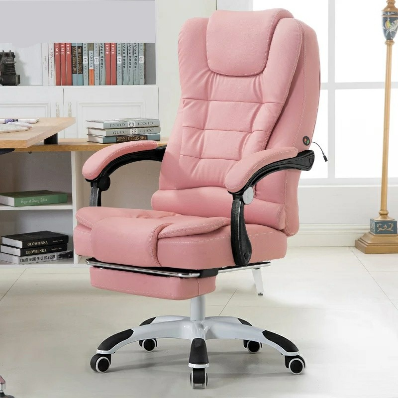 Computer Chair Household PU Office Chair Swivel Lifting Gaming Chair Massage Function Silla Oficina Cadeira Gamer