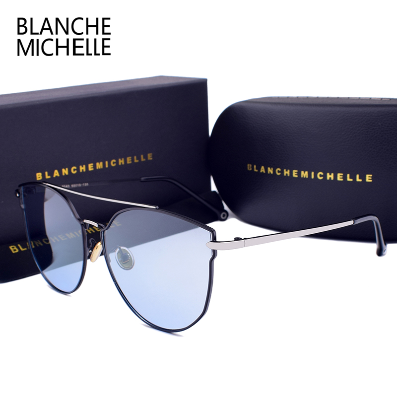 41a61d1cc9 ... mujeres de la marca de gafas de sol polarizadas hombres UV400  conducción gafas de sol gradiente Vintage gafas de sol de mujer con caja  Online Baratos