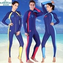 Surf clothing Sunscreen Jellyfish clothing Large size Siamese Long sleeves Swimwear Swimsuit