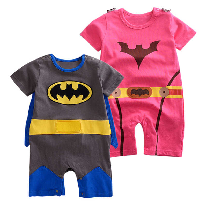 14cb1f398 Toddler Superhero Costumes Infant Girls Boys Set Superman Supergirl Batman  Romper Bebe Superheroe Cloak Superman Baby