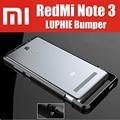 Redmi note 3 pro original luphie altamente oxidado de parachoques de aluminio del metal para xiaomi redmi note3 prime qmk1210cn